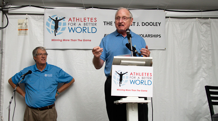 Coach Vince Dooley