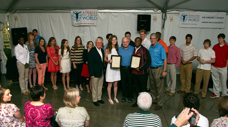 2013 Dooley Award scholarship finalists