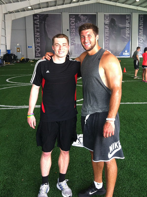 Zak Boggs and Tim Tebow