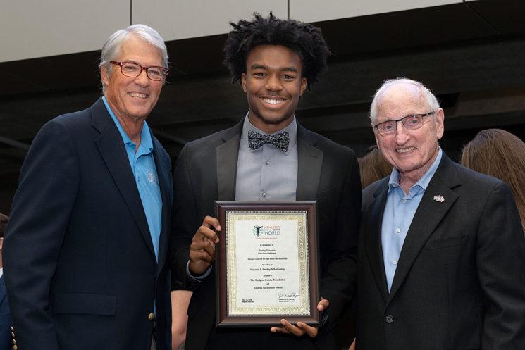 2018 Dooley Award presentation