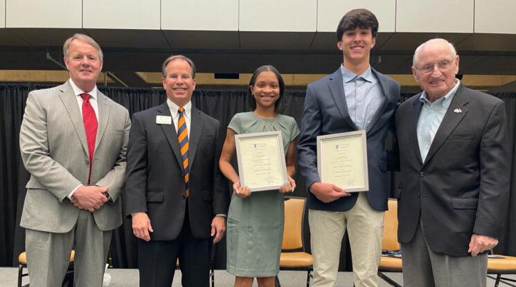 2020-2021 Dooley Scholarship recipients