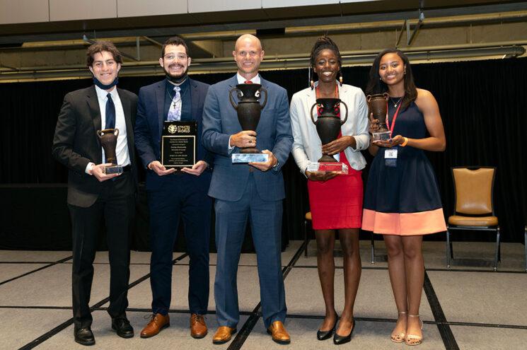 Wooden Cup recipients 2021